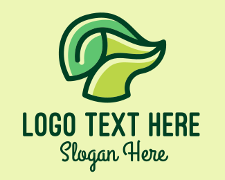 Stalk - Green Leaf Stalk  logo design