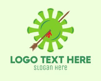 Strike - Deadly Green Virus logo design