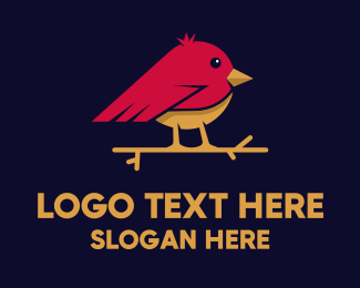 League - Little Bird logo design