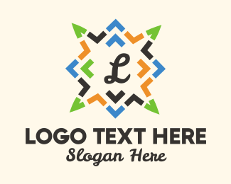 Decoration Shop - Christmas Lantern Lettermark logo design