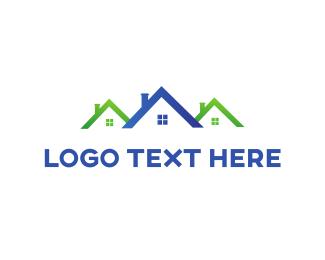 Neighborhood - Real Estate  logo design