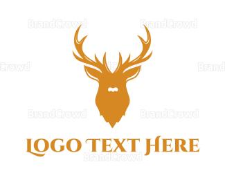 Alaska - Hunting Trophy logo design
