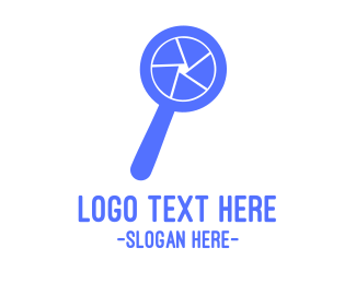 Search Engine - Blue Shutter Search  logo design