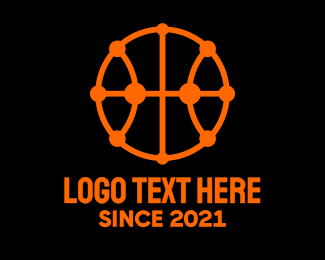 Modern Basketball Logo