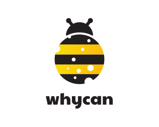 Bug Bug Bee Ladybug Beatle logo design