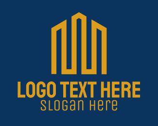 Modern - Modern Gold Building logo design