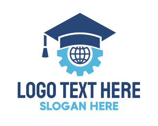 Review Center - Graduate School Technology logo design