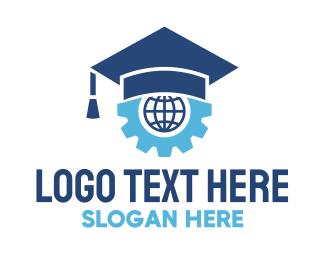 School - Graduate School Technology logo design