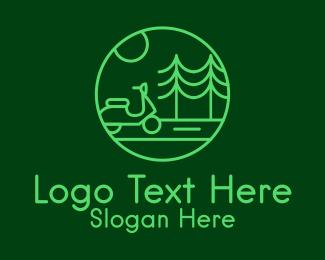 Eco Scooter Travel  Logo
