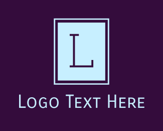 Typewritten - Serif Professional Lettermark logo design