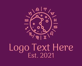 Cosmos - Chinese Zodiac Symbols logo design