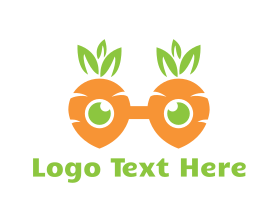 Geek Carrot Glasses Logo