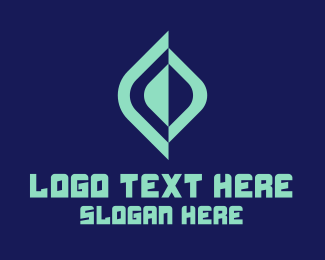 Online - Modern Online Gaming  logo design