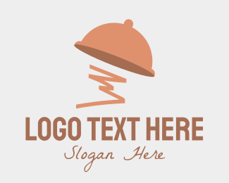 Food - Food Menu Cloche logo design