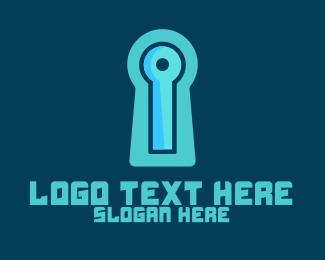 Cybersecurity - Safe Tech logo design