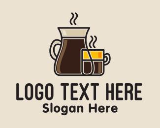 Carafe - Coffee Drink logo design