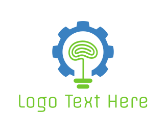 Chatbot - Brain Factory logo design