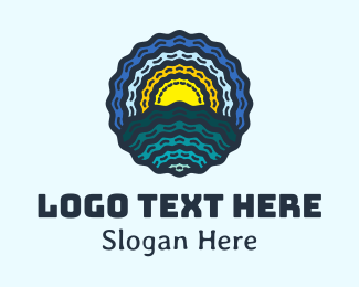 Resort - Seashell Beach Resort logo design