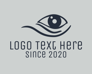 Athens - Eye Care logo design