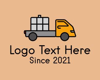 Cargo - Cargo Delivery Truck  logo design