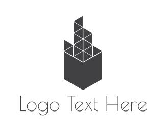 Urban - Geometric Building logo design