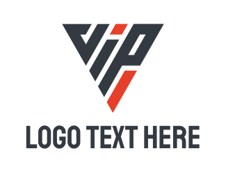 Exclusive - Triangle VIP logo design