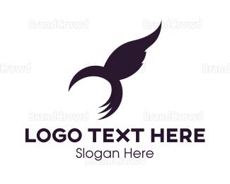 Colibri - Hummingbird Flight logo design
