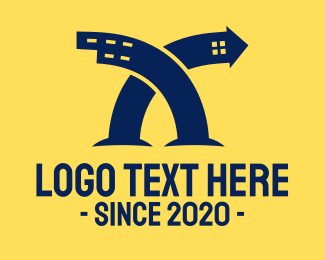 Building Maintenance - Blue Building Property logo design