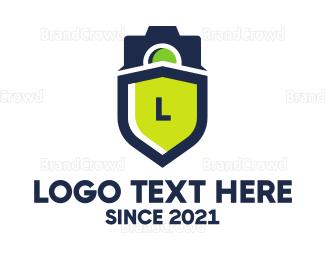 Blogger - Surveillance Camera logo design