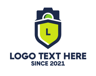 Vlogger - Surveillance Camera logo design