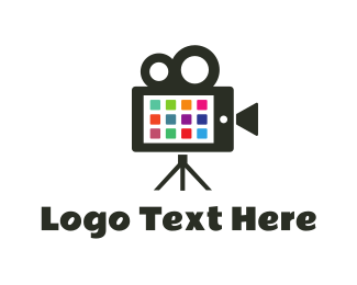 Video Camera - Phone & Video logo design