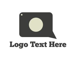 Dialogue - Photography Conversation logo design