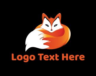 Red Fox - Cute Fox logo design