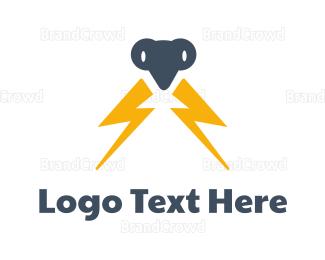 Electrical Energy - Electric Mantis logo design