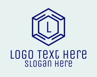Software Tester - Hexagon Tech Lettermark  logo design