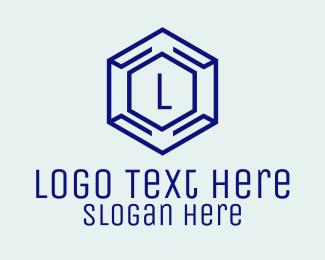 Lettermark - Hexagon Tech Lettermark logo design
