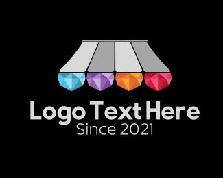 Fashion Accessory - Diamond Jewelry Shop logo design