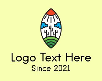Landscaping - Hill Outdoor Landscape logo design