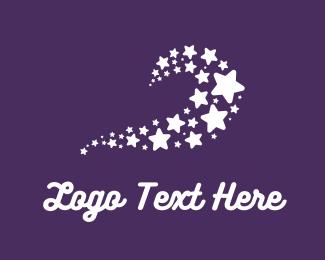 Constellation - Star Wave logo design