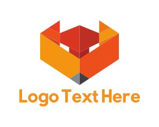 Coyote - Fox Face logo design