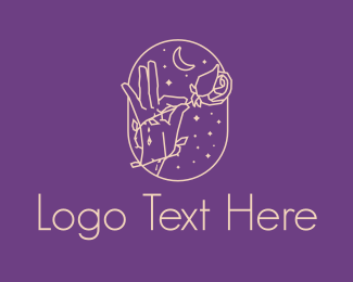 Numerology - Aesthetic Rose Florist  logo design