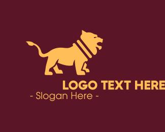 Sigil - Royal Golden Lion logo design