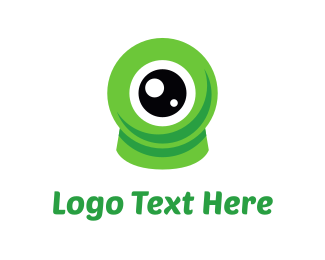 Cyclops - Eco Eye logo design