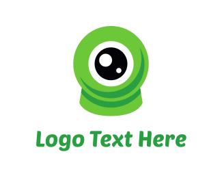 Retina - Eco Eye logo design