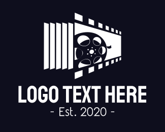 Film Strip - Movie Reel logo design