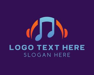 Disco - Music Streaming Playlist logo design