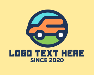 Service - Car Delivery Service logo design