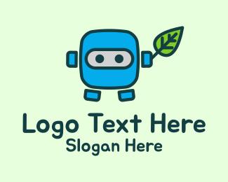Organic - Organic Robot logo design
