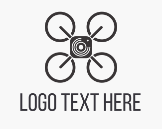 Photo Booth - Sky Drone Photo logo design