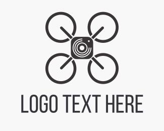 Creative - Sky Drone Photo logo design